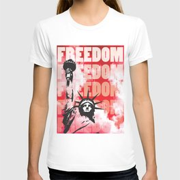 Freedom - Red T-shirt