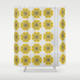 Andes Pattern | Floral Shower Curtain