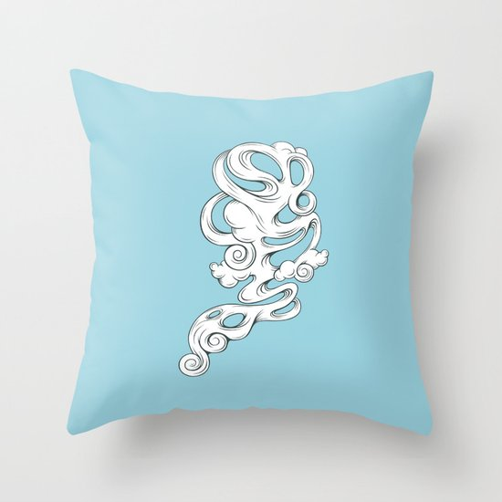 Cirrus///1 Throw Pillow