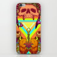 medicine iPhone & iPod Skins featuring Old Medicine by Travis Gillan