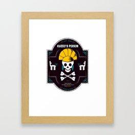 Llama Poison Framed Art Print