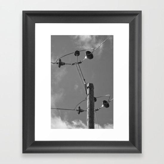 commune with the sky... Framed Art Print