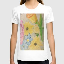 Forget me not, Daisy. T-shirt
