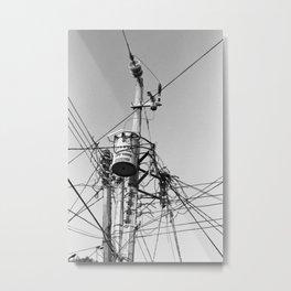 Electric Sunset Metal Print