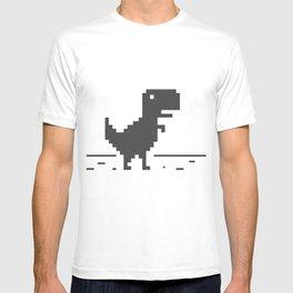 Google Chrome's Dino T-shirt