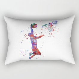 Basketball player Rectangular Pillow