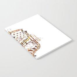 Hufflepuff Crest Notebook