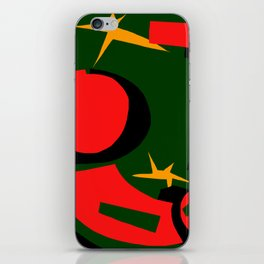 Christmas is comming iPhone Skin
