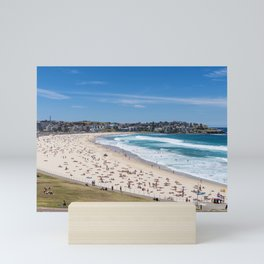 Bondi Beach lookng north to Ben Buckler Mini Art Print