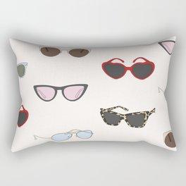 SUNGLASSES Rectangular Pillow