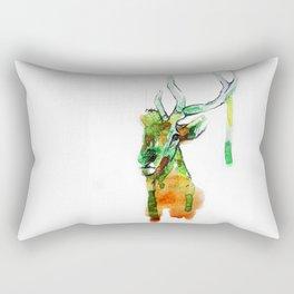 Deerface Rectangular Pillow