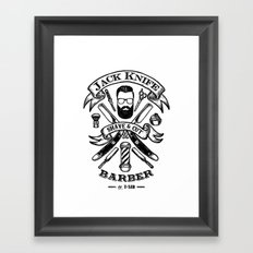 Jack Knife Framed Art Print