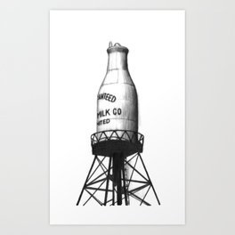 Montreal's Guaranteed Milk Co Limited Art Print