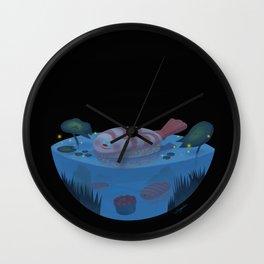 Sushi Fish Night Wall Clock