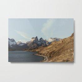 Patagonia Sunset Metal Print