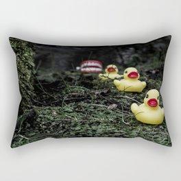 Duck, duck, duck... Rectangular Pillow