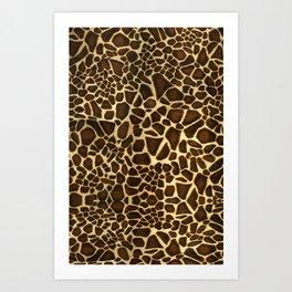 Little Giraffe Art Print