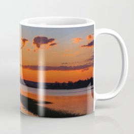 Orange Sunshine Sky Coffee Mug