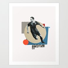 B 2009 Art Print