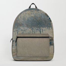 Childe Hassam - Winter in Union Square Backpack