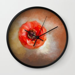 Art of the Flower Wall Clock