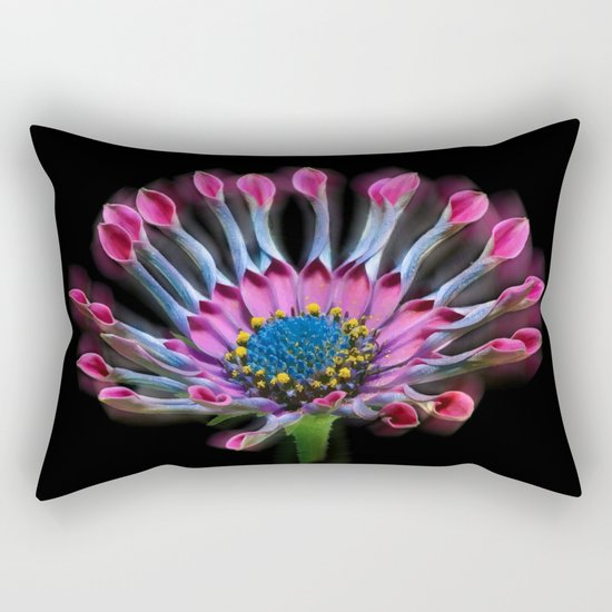 Tropical Daisy Rectangular Pillow