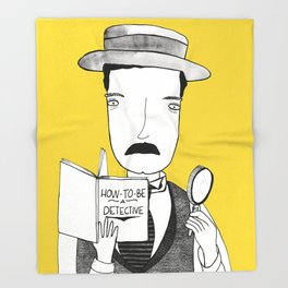 Sherlock Jr. Throw Blanket