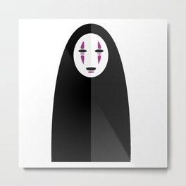 Spirited Away's No Face Metal Print