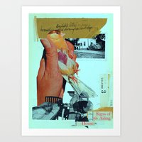 signs of an ailing house Art Print