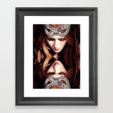 Reflects5 Framed Art Print