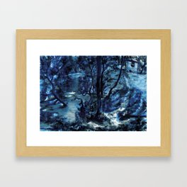 Two Worlds ( are really the same) Framed Art Print