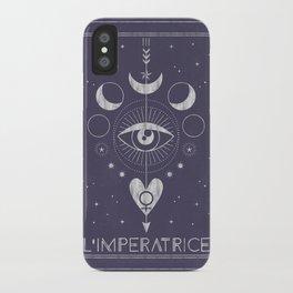 L'Imperatrice or L'Empress iPhone Case
