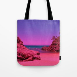 Fantasy beach Tote Bag