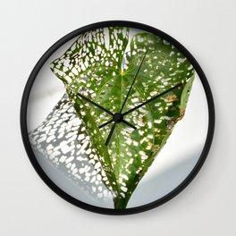 Leaf Light II Wall Clock