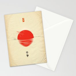 """Japan relief poster/all proceeds will go to """"Peace Winds"""" Stationery Cards"""