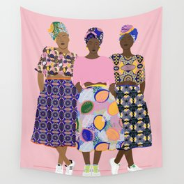 GIRLZ BAND Wall Tapestry