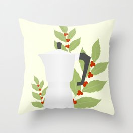 Moka pot Throw Pillow
