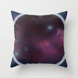 Spaceview Throw Pillow