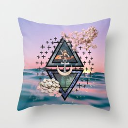 The Elements Throw Pillow