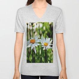 Daisy Reflections Unisex V-Neck
