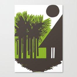 Choza Canvas Print