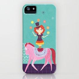 Circus Girl iPhone Case