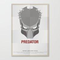 predator Canvas Prints featuring PREDATOR by Alejandro de Antonio Fernández