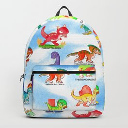 Chibidinos Watercolors Summer 2018 Backpack