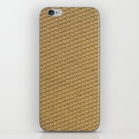 fabric iPhone & iPod Skins featuring Fabric by Kris alan apparel