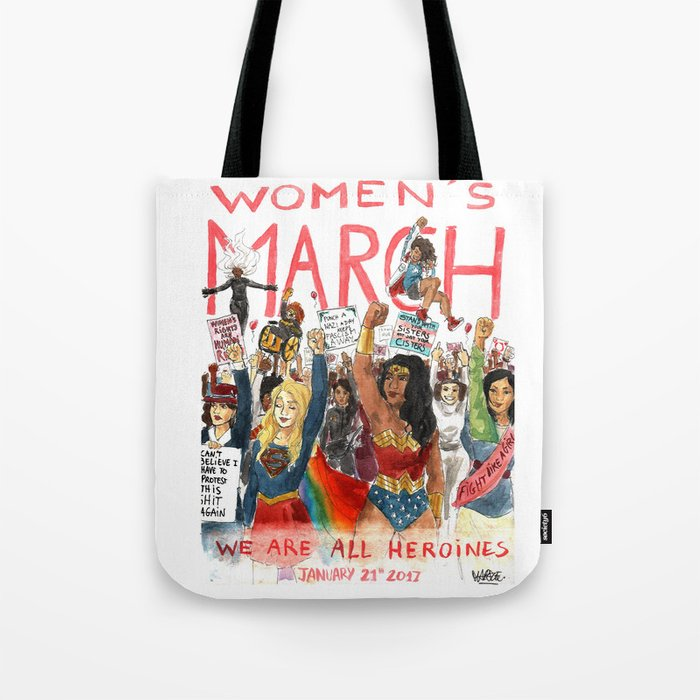 59cff3bb926 Women's March 2017 Tote Bag by maryne | Society6