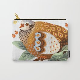 A Partridge In A Pear Tree Carry-All Pouch