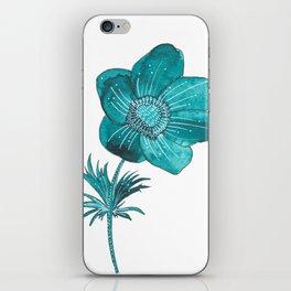 Anemone Watercolor iPhone Skin