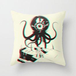 3D Adventure Throw Pillow
