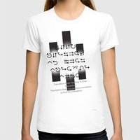 lost in translation T-shirts featuring Lost in Translation :Black & White by Sierra Neale